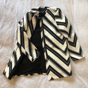 Zippered coat with pockets - NEW